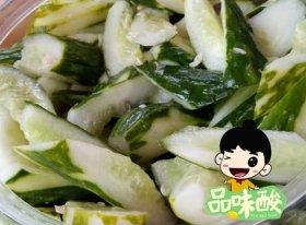 广西酸野做法-青瓜酸怎么做好吃又脆又简单