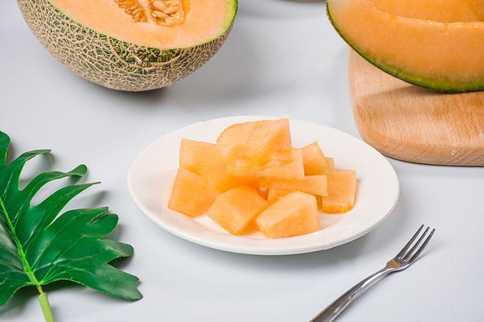 哈密瓜怎么切-哈密瓜水果酸野小吃好吃了