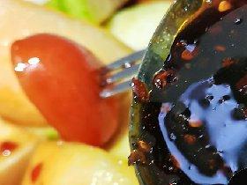 博白红糖酸野水果做法_红糖水果酸野高清图片